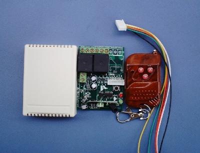 6伏直流电机正反转遥控开关,双控功能,即可遥控,亦可手控;附带双限位